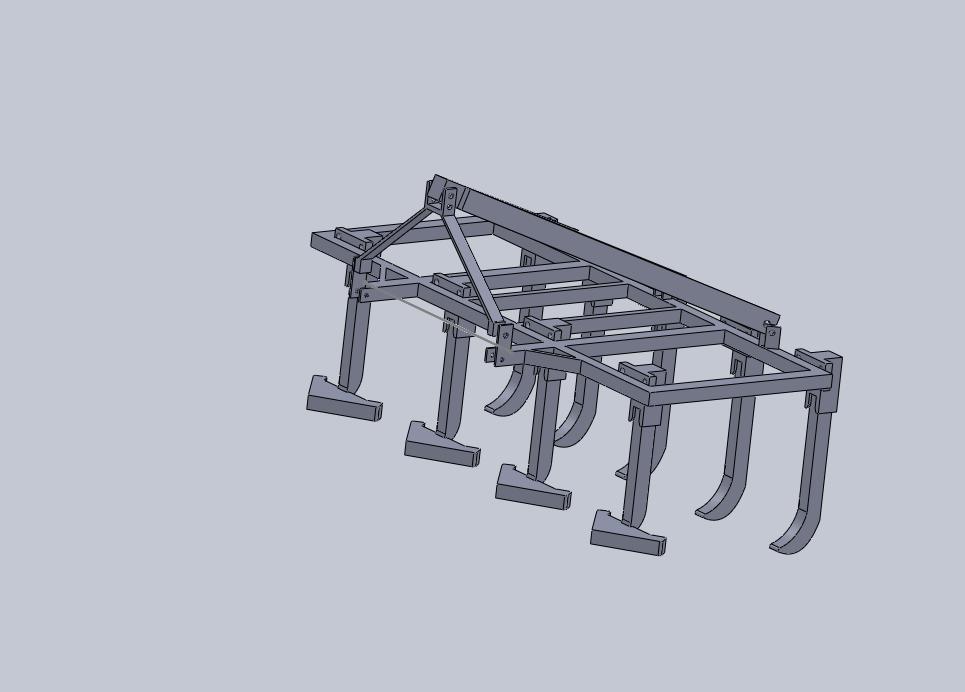 پروژه طرح های سه بعدی  solidworks  ادوات کشاورزی